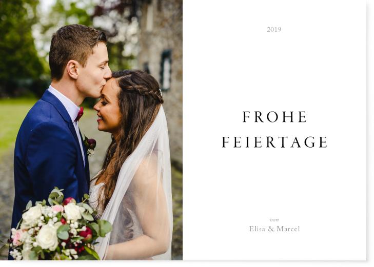 Frohe Feiertage - Grubenglück Hochzeitsfotografie